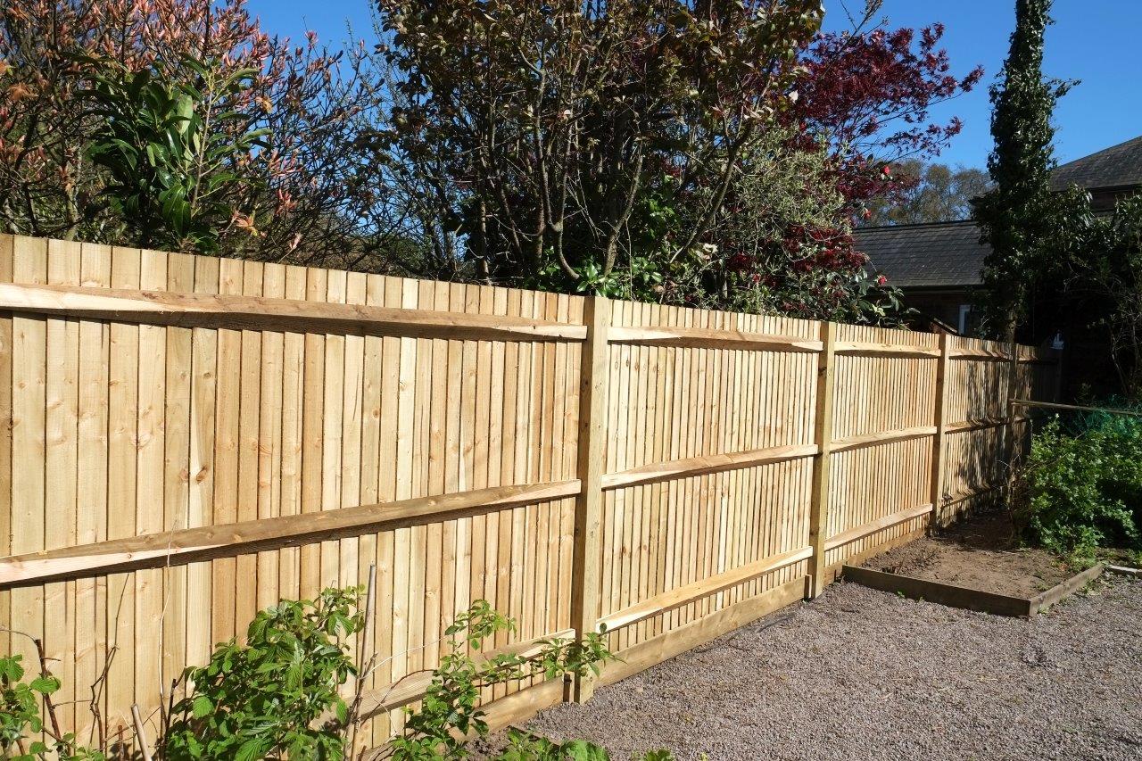 Installation de clôture