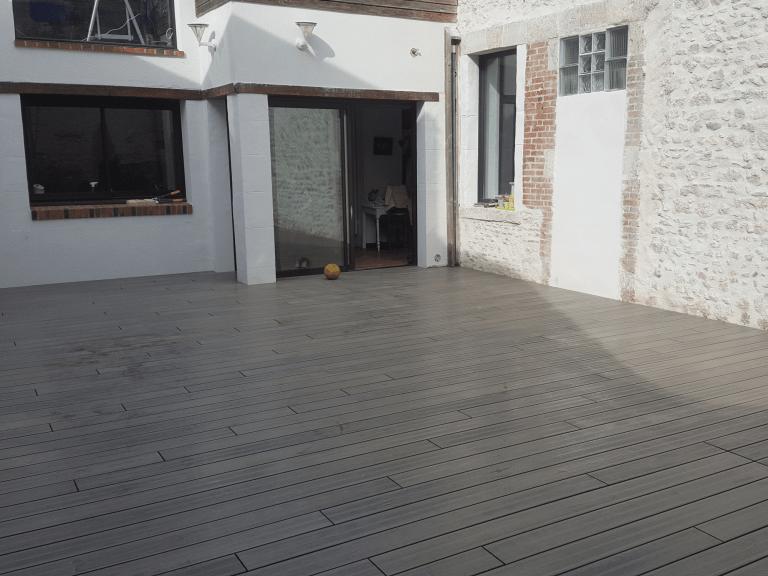 Installation terrasse